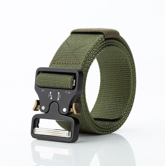 Cinturón Táctico Tipo Asalto Militar + Regalo Tarjeta Navaja
