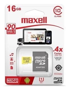 Tarjeta De Memoria 16 Gb Maxwell Clase 10