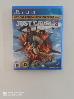 Just Cause 3 Físico Ps4