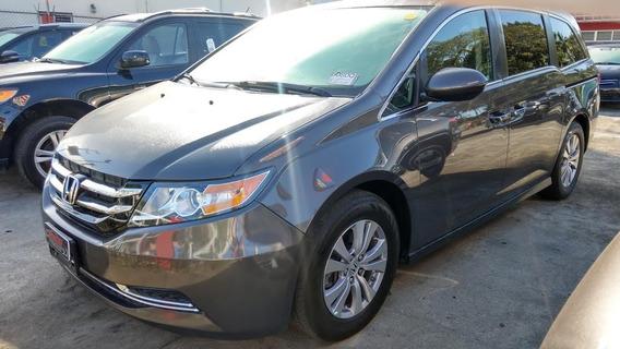 Honda Odyssey Exl Gris 2016