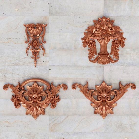 Molduras De Madera Decorativas Para Muebles Otros En