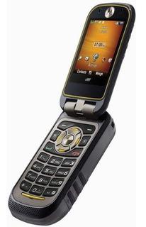 Motorola I680 Brute De Goma Flip Con Tapa Abre Y Cierra Ok