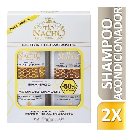 Monoestuche Tío Nacho Ultra Hidratante Shampoo + Aco X415ml