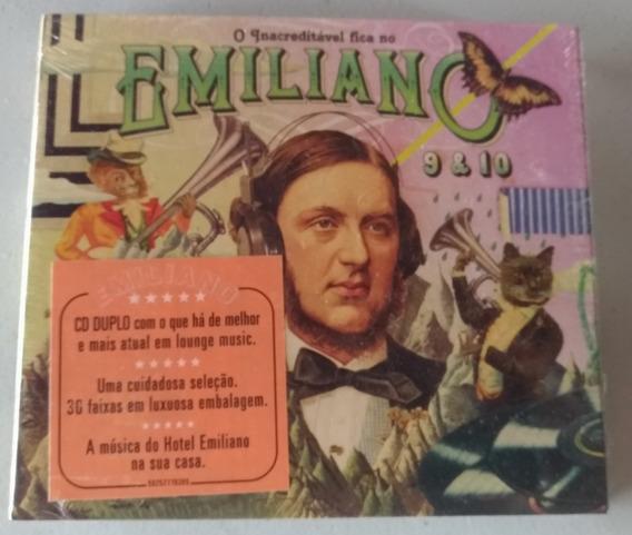 Cd O Inacreditavel Fica No Hotel Emiliano 9 E 10 (cd-novo)