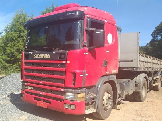 Scania 124r 360 E Carreta Randon 10,50m Fs Caminhoes