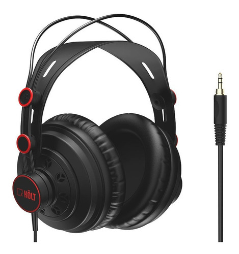 Auricular Para Monitoreo Kolt K-250s Negro
