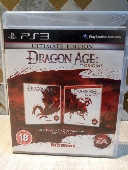 Jogo Usado Ps3 - Dragon Age (ultimate )