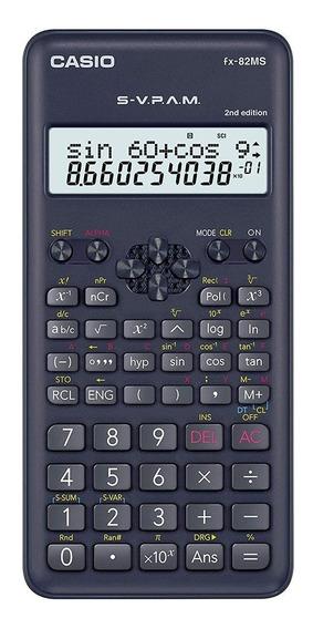 Calculadora Científica Casio Fx 82 Ms Original 240 Funções
