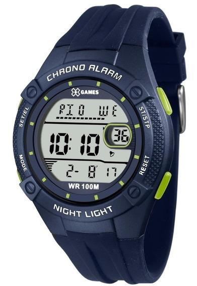 Relógio Masculino Preto Xgames Xmppd443