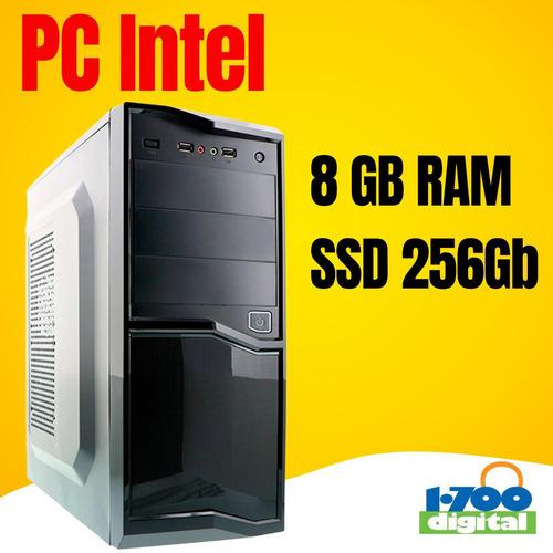 Computadora Pc Intel G5905 10ma. 8gb Ssd 250 Hdmi Y I3 I5