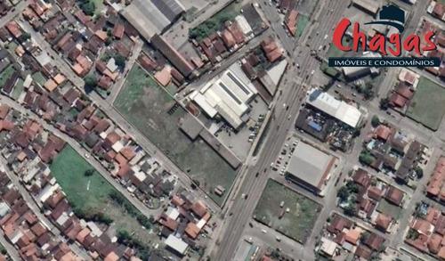 Imagem 1 de 1 de Área Com 7.500 Metros Frente Rodovia Em Caraguatatuba - 1418