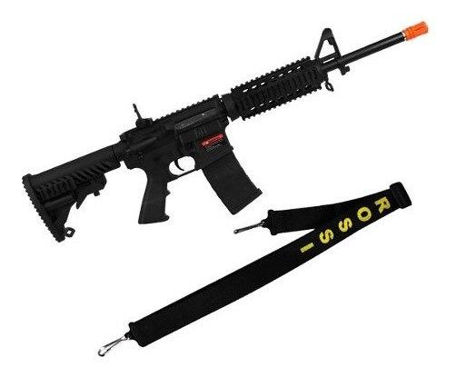 Rifle Airsoft M4a1 Kompetitor A.p.s Blowback + Bandoleira