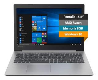 Notebook Laptop Lenovo Ideapad 15.6 Amd Ryzen 5 8gb 256gb 18