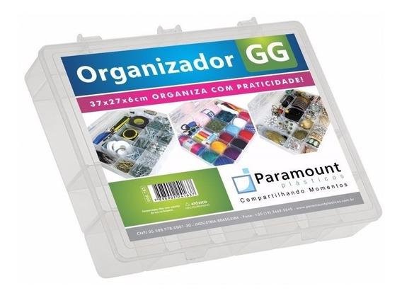Caixa Organizadora Gg 37x27x6 Para Sensores Arduino Led Esp