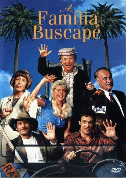Dvd A Família Buscapé 1993 + Outro Filme De Brinde