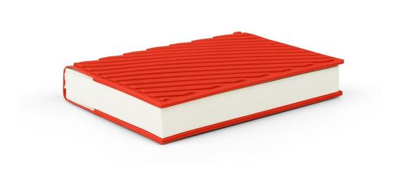 Cuaderno Hojas Lisas Tapa Silicona Stripebook Gato