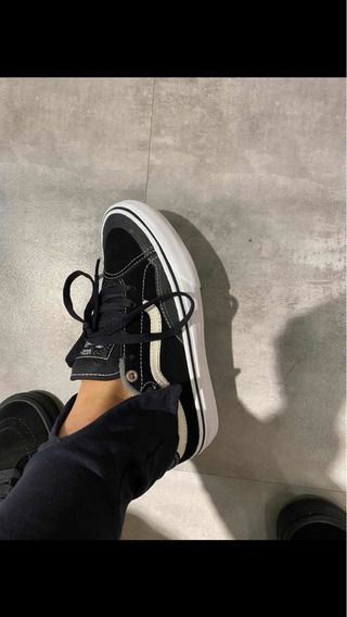 Vans Advanced Preto E Cinza