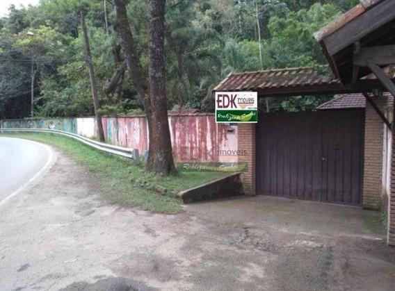 Sítio Com 2 Dormitórios À Venda, 1200 M² Por R$ 350.000 - Centro - Monteiro Lobato/sp - Si0021