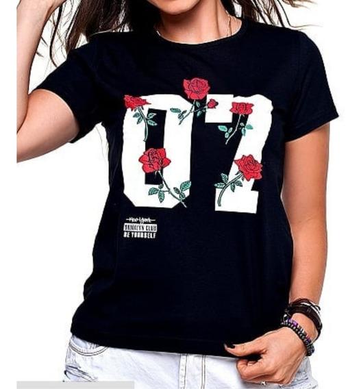 Blusas Femininas T Shirt, Promoção, Fabricação Própria