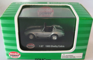 Shelby Cobra 1965, 1/87 H0. Model Power. 10 Vrdes