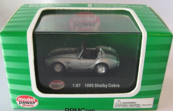 Shelby Cobra 1965, 1/87 H0. Model Power. 10 Vrdes