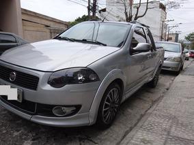 Fiat Strada 1.8 16v Sporting Cab Est. Completa + Teto Solar