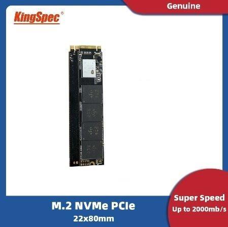 Hd Ssd M2 1tb 80mm Kingspec Nvme 2400mb/s Samsung 970