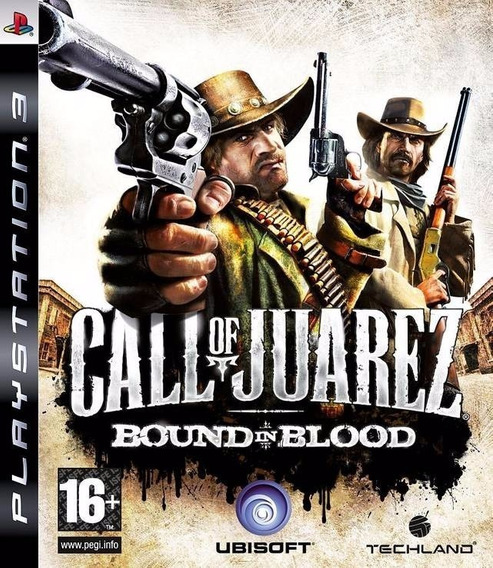 Jogo Call Of Juarez Bound In Blood Ps3 M. Fisica