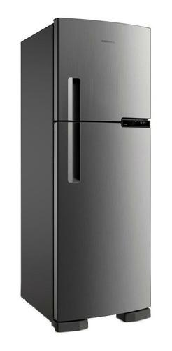 Geladeira/refrigerador 375 Litros 2 Portas Inox - Brastemp - 220v - Brm44hkbna