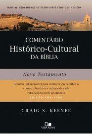 Livro Craig Keener - Comentário Histórico - Cultural Nt