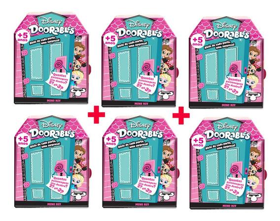 Doorables Disney 6 Mini Kit Surpresa Dtc Original