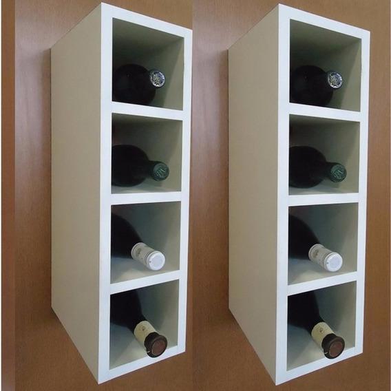 Nicho Prateleira Decoração Vinho Toalha Para 8 Garrafas