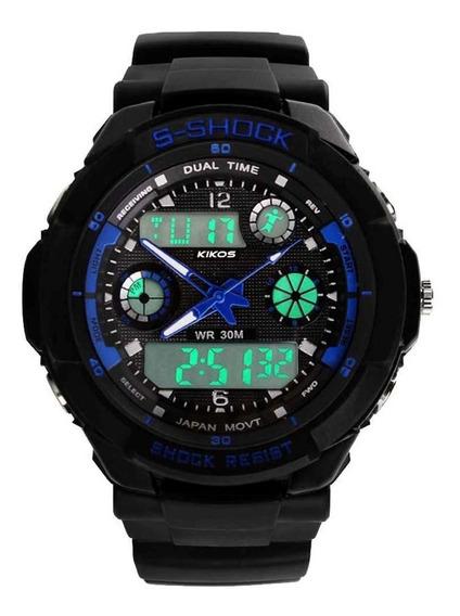 Relógio Rk02 Azul - Kikos