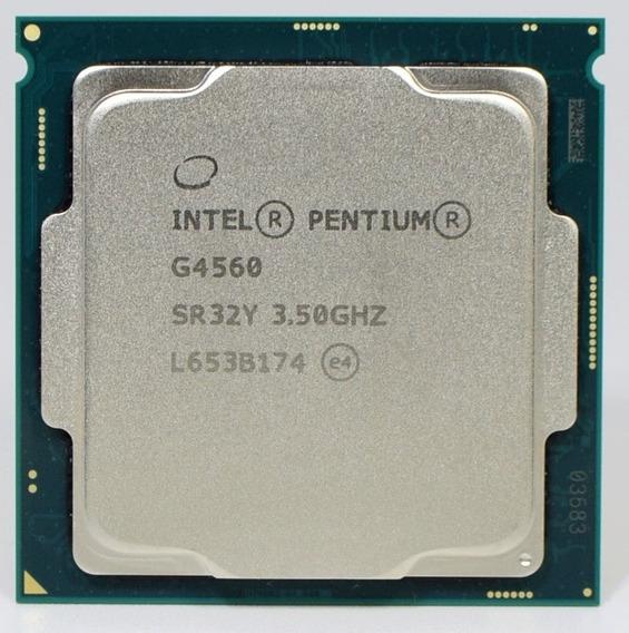 Pentium G4560 3.5ghz 1151 Faço R$319 Quase I3 6100 6300 7100