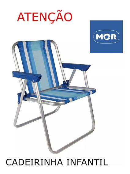 Cadeira Infantil Alta Alumínio Mor Praia Camping Piscina Mega Promoção Comprar