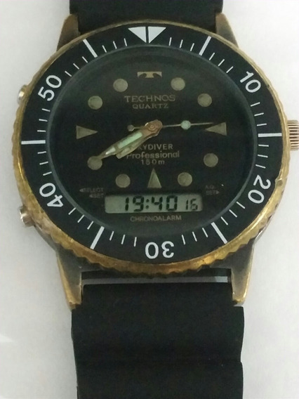 Relógio Technos Skydiver 1980
