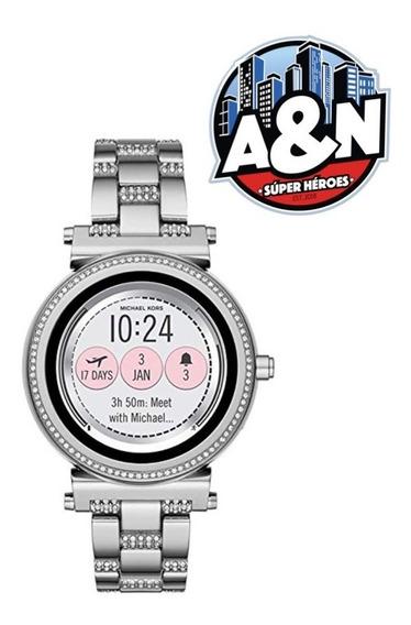 Michael Kors Reloj Inteligente Smartwatch Sofie Color Plata