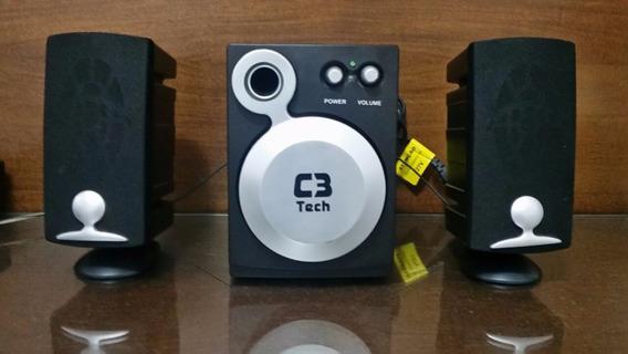 Caixa De Som Subwoofer 2.1 C3 Tech Ct68360i