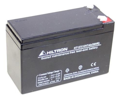 Imagen 1 de 1 de Bateria De Gel Recargable 12v 7ah Hiltron Consultar