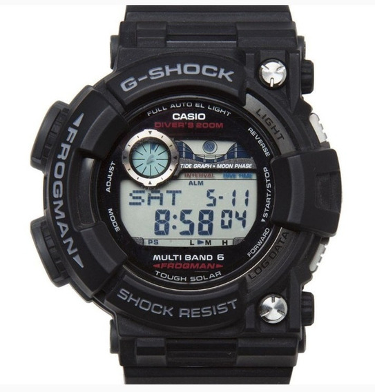 Relógio Masculino G-shock Frogman Com Caixa Original