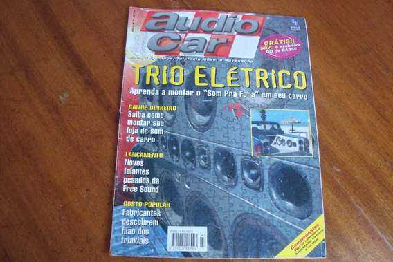 Revista Audio Car 47 / Trio Eletrico / Montar Som Pra Fora