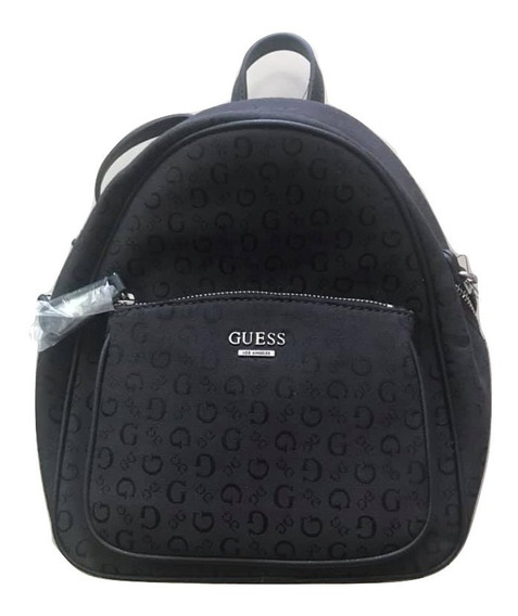 Guess Mochila Backpack Pandore Negro 100% Original