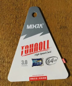Micro Sd 64gb Mixza Classe 10. Original. Pronta Entrega.