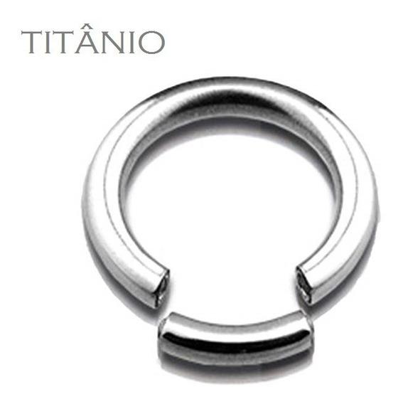 (1 Peça) Alargador Argola Segmentada Titânio 1.6mm 2mm 3mm