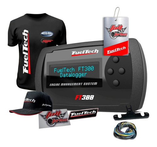 Fueltech Ft300 6 Metros +ultra Brindes+ 12x S/juros
