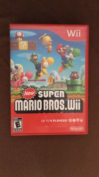 Vendo Game Original New Super Mario Bros Para Wii / Wii U