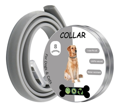 Collar Antipulgas Y Garrapatas Para Todo Tipo De Perros