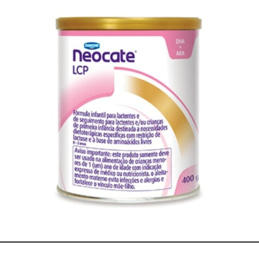 Leite Neocate Lcp 4 Latas 400gr