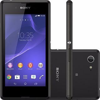 Smartphone Sony Xperia E3 D2212 Quad Core Android4.4 Vitrine