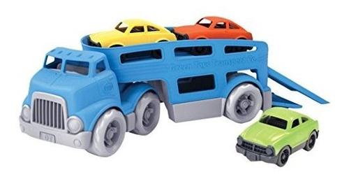 Vehiculo De Juguete Green Toys Set Toy Blue